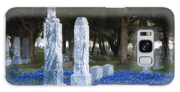 Cemetery Bluebonnets Galaxy Case