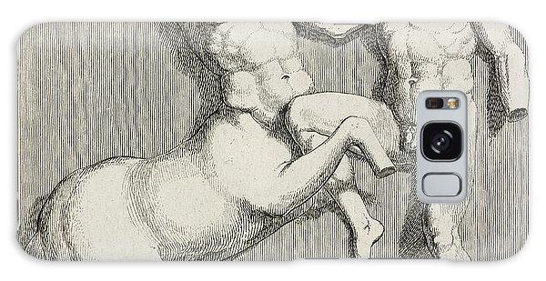 Centaur And Man Galaxy Case by British Library