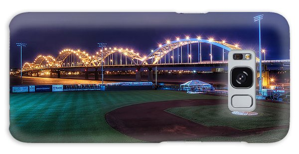 Baseball Galaxy Case - Centennial Bridge And Modern Woodmen Park by Scott Norris