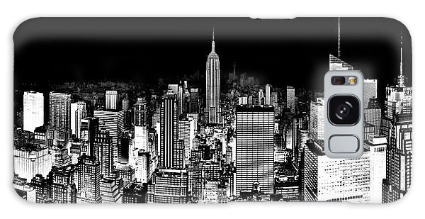 Empire State Building Galaxy S8 Case - Center Of The Universe by Az Jackson