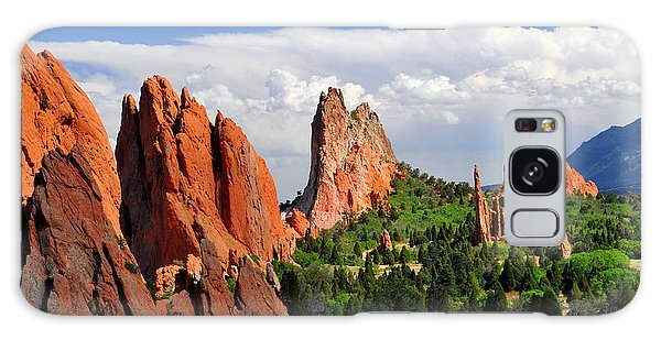 Central Garden Of The Gods Park Galaxy Case