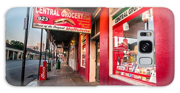 Central Grocery And Deli In New Orleans Galaxy Case by Andy Crawford