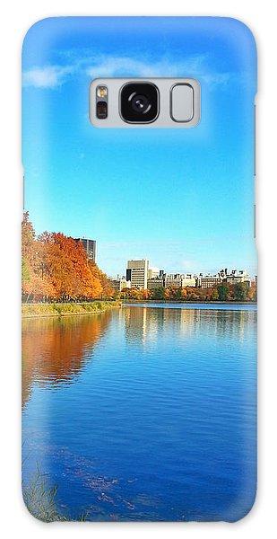 Central Park Autumn Landscape Galaxy Case