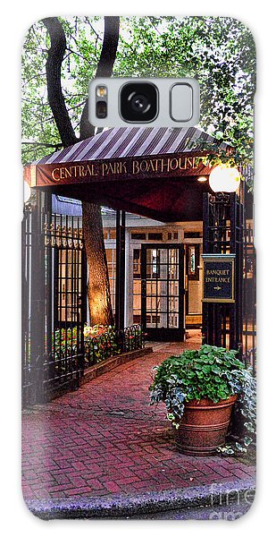 Outdoor Dining Galaxy Case - Central Park Boathouse by Paul Ward