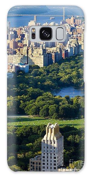 Central Park Galaxy Case by Brian Jannsen