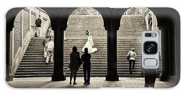 Central Park Bride Galaxy Case by Madeline Ellis