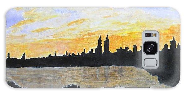 Central Park In Newyork Galaxy Case by Sonali Gangane