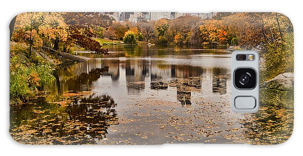 Central Park In The Fall New York City Galaxy Case