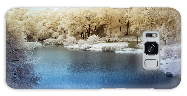Central Park Lake Infrared Galaxy Case