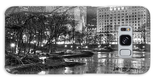 Central Park Lake Night Galaxy Case