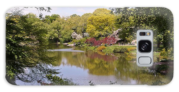 Galaxy Case featuring the photograph Central Park Landscape by Ann Murphy