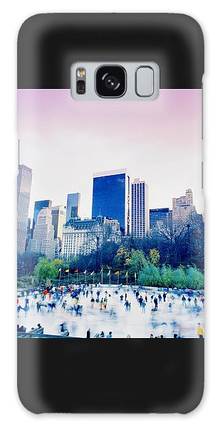 New York In Motion Galaxy Case by Shaun Higson