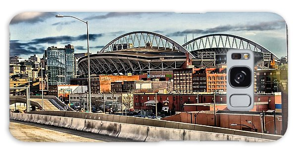Century Link Field Seattle Washington Galaxy Case by Michael Rogers