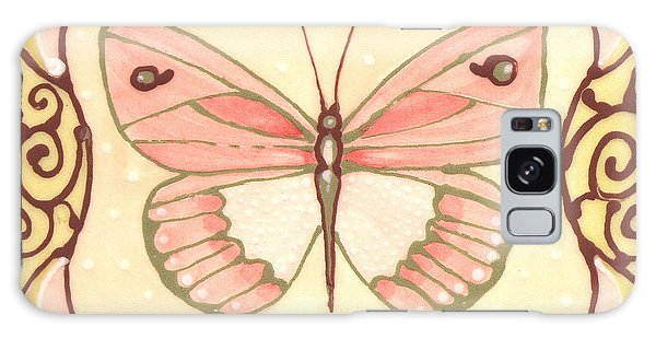 Ceramic Butterfly 2 Galaxy Case