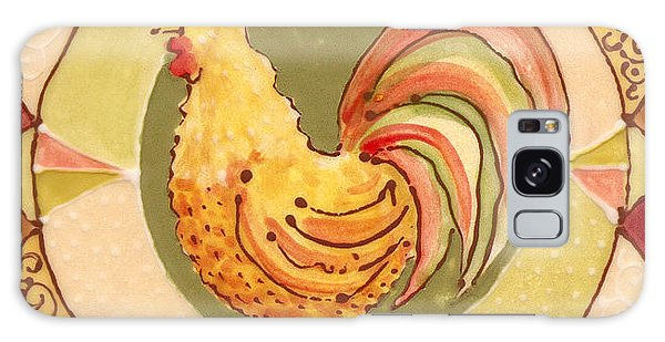 Ceramic Rooster Galaxy Case