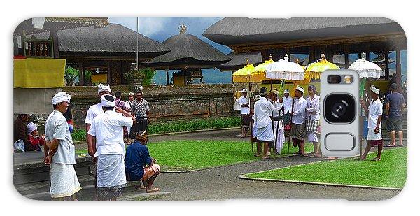 Ceremony Gathering At Beratan Bali Galaxy Case