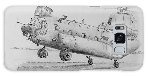 Ch 47 Chinook Helicopter Galaxy Case by Jim Hubbard