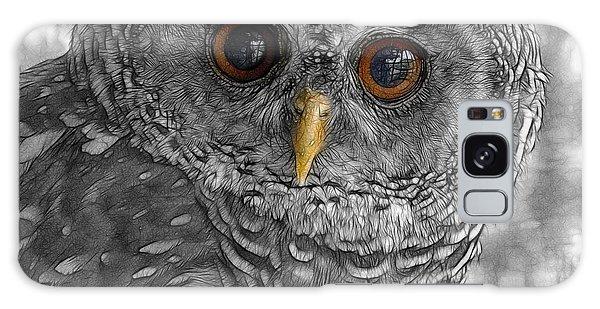 Chacco Owl Galaxy Case