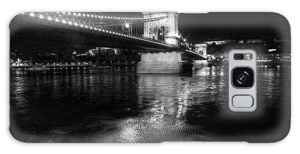 Chain Bridge Danube River Galaxy Case
