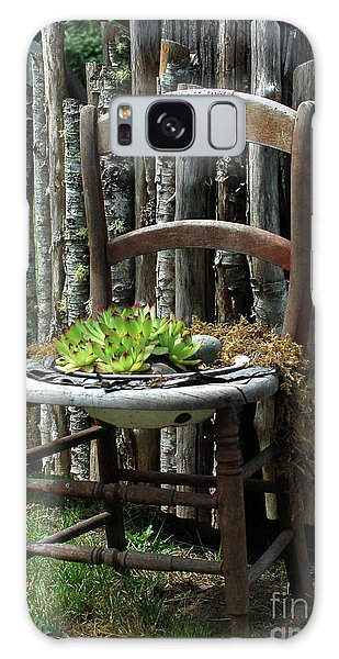 Chair Planter Galaxy Case