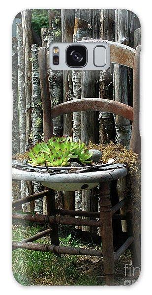 Chair Planter Galaxy Case