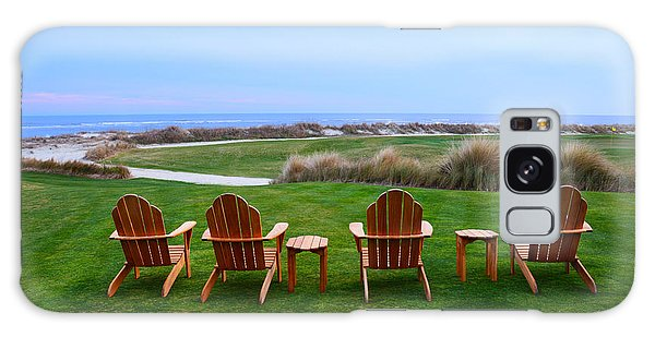 Chairs At The Eighteenth Hole Galaxy Case
