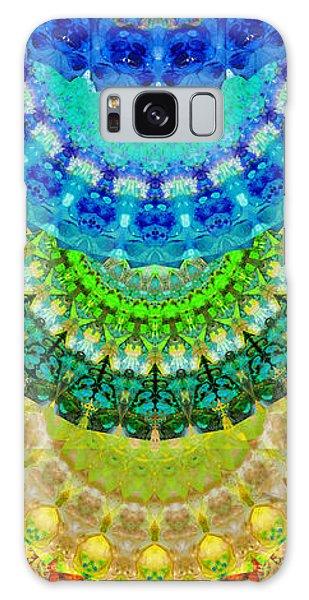 Chakra Mandala Healing Art By Sharon Cummings Galaxy Case