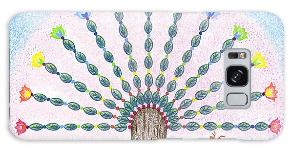 Chakra Tree Galaxy Case