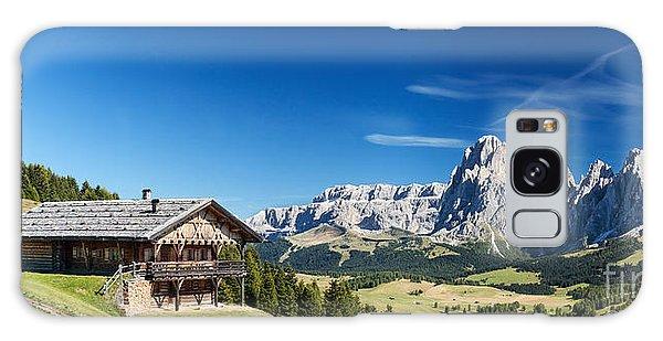 Chalet In South Tyrol Galaxy Case by Carsten Reisinger