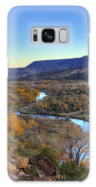 Chama River At Sunset Galaxy Case by Alan Vance Ley