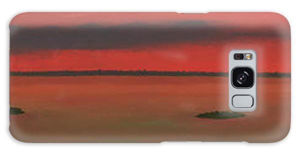 Chambers Island Sunset Galaxy Case