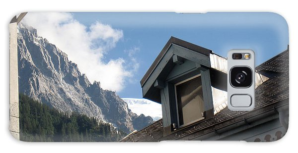 Buy Art Online Galaxy Case - Chamonix Roofs by Alexandros Daskalakis
