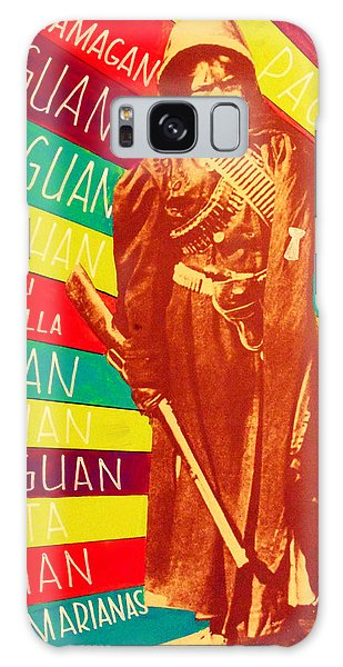 Galaxy Case featuring the painting Chamorro Revolutionary by Michelle Dallocchio