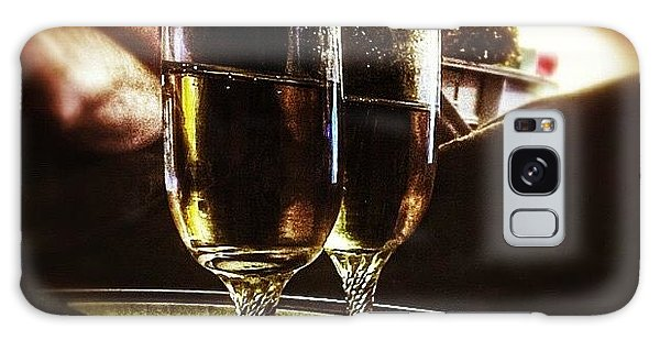 Holiday Galaxy Case - Champers 'hic' #christmas by Abbie Shores
