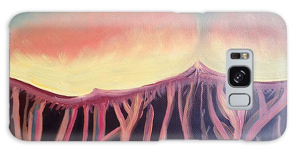 Champignons Landscape 2 In Work Galaxy Case