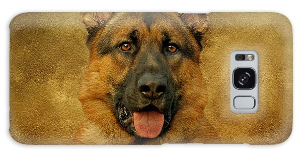 Chance - German Shepherd Galaxy Case