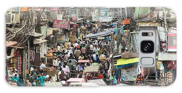Chaotic Streets Of New Delhi In India Galaxy Case