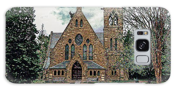 Chapel At University Of Virginia Galaxy Case by Jerry Gammon