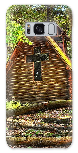 Chapel In The Pines Galaxy Case