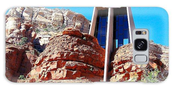 Chapel Of The Holy Cross Sedona Galaxy Case