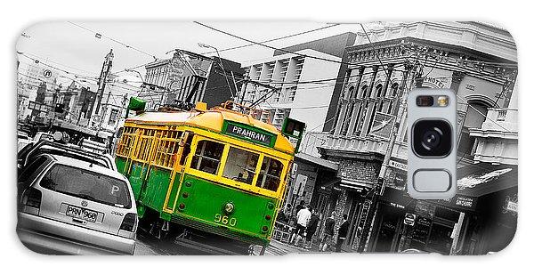 Swan Galaxy S8 Case - Chapel St Tram by Az Jackson