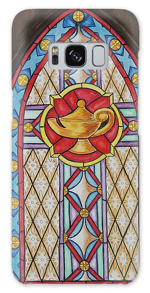 Chapel Window Galaxy Case