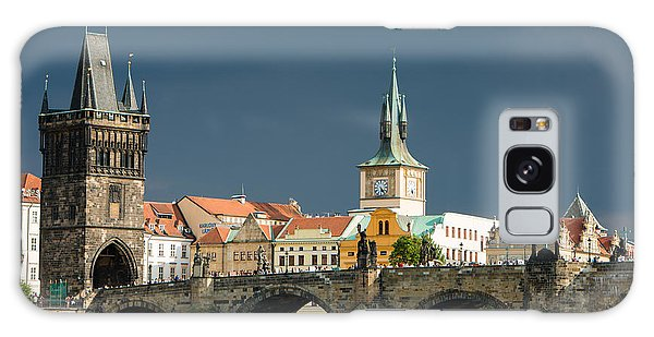 Charles Bridge Prague Galaxy Case