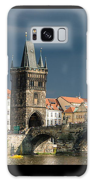 Charles Bridge Prague Galaxy Case by Matthias Hauser