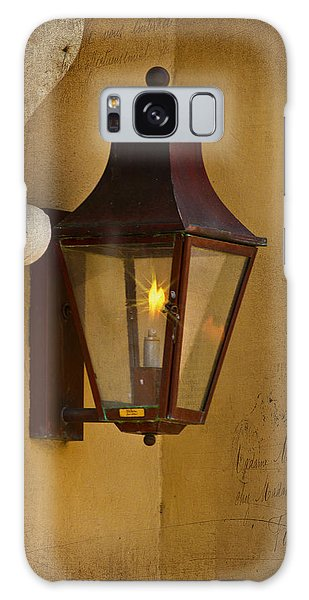 Charleston Carriage Light Galaxy Case by Bill Barber