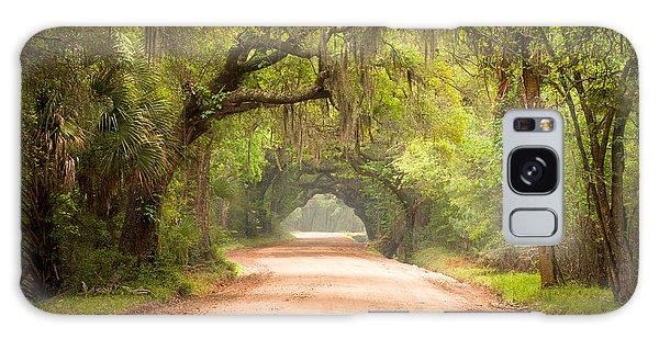 Charleston Sc Edisto Island Dirt Road - The Deep South Galaxy Case