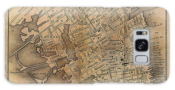 Charleston Vintage Map No. I Galaxy Case