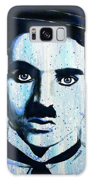 Charlie Chaplin Little Tramp Portrait Galaxy Case