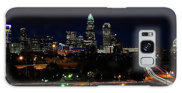 Charlotte Nc At Night Galaxy Case