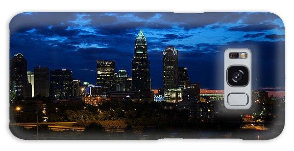 Charlotte North Carolina Panoramic Image Galaxy Case